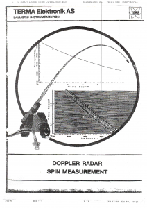 Terma Ballistics conference 1987 - Doppler Radar Spin Measurement_Page_1